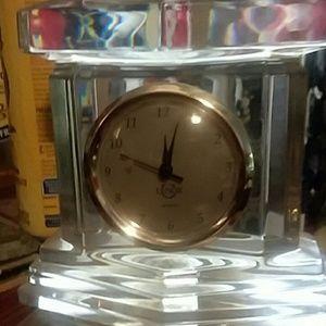 Lenox quartz crystal clock